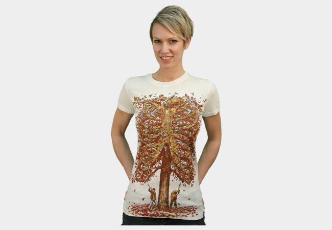 autumn inside T-Shirt - Design By Humans