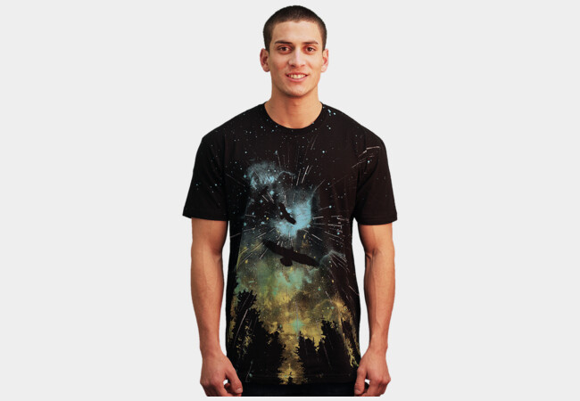 Limited Edition - Twilight Rain T-Shirt - Design By Humans