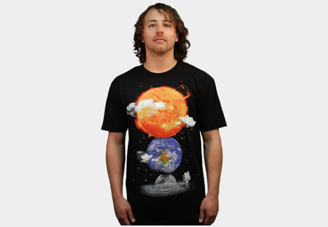 Cosmic Garden T-Shirt - Design By Humans