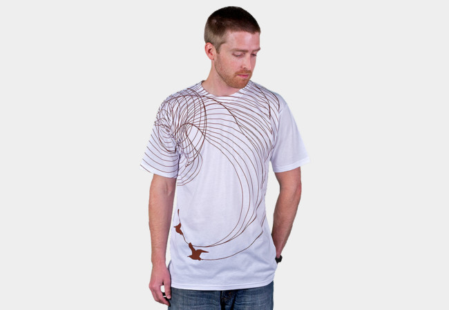 Migratory Pattern of the Lovebirds T-Shirt - Design By Humans
