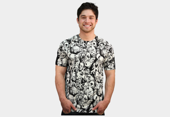 Zombie Pattern T-Shirt - Design By Humans