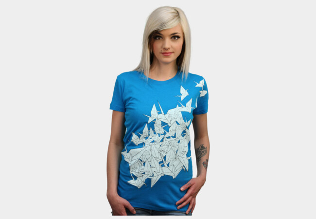 Limited Edition - 1000 Cranes T-Shirt - Design By Humans