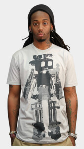 Limited Edition - Halftone Robot Men's