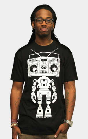 Limited Edition - Boombox Boy Bot