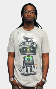 Play My Musical Robot T-Shirt