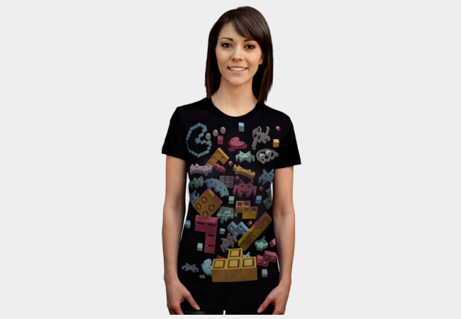 OVERDOSE OF PIXELS T-Shirt - Design By Humans