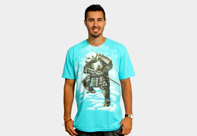 spirit of white samurai T-Shirt - Design By Humans