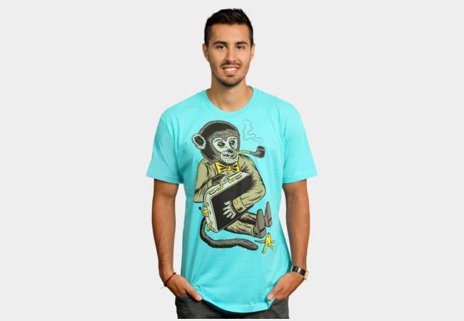 Monkey Business T-Shirt - Design By Humans