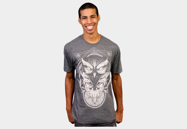Limited Edition - Alchemy Owl T-Shirt - Design By Humans