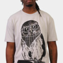 Killorez wearing Limited Edition - Smart Owl by Recycledwax