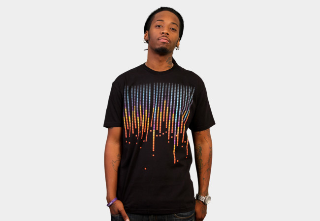 Pixelated fade T-Shirt - Design By Humans