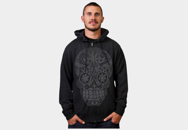 Calavera III Hoodies T-Shirt - Design By Humans