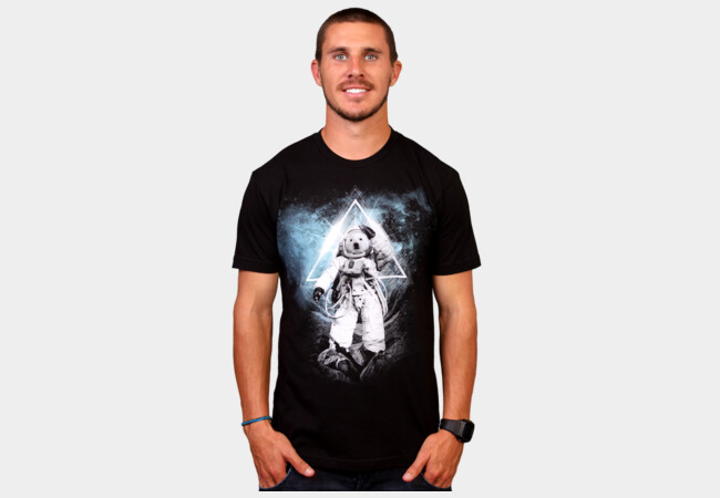Polar Bears in Space T-Shirt - Design By Humans