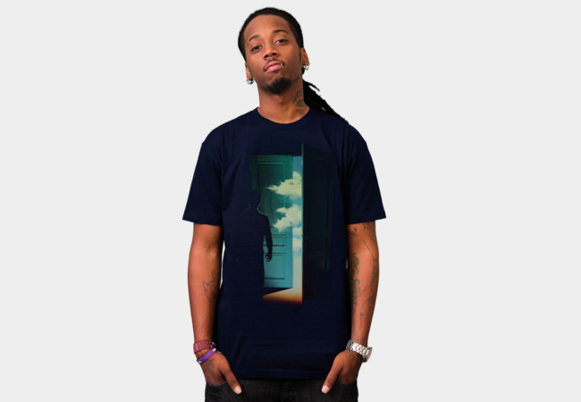 Door to the World T-Shirt - Design By Humans