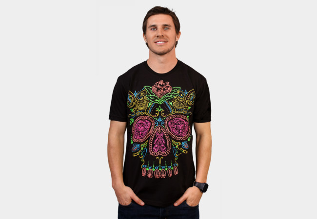 Limited Edition - Day of the Dead T-Shirt - Design By Humans
