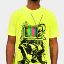 dousy32 wearing Limited Edition - Retro TV Colour Test Man by LukeBatten