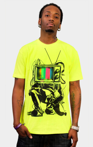 Limited Edition - Retro TV Colour Test Man