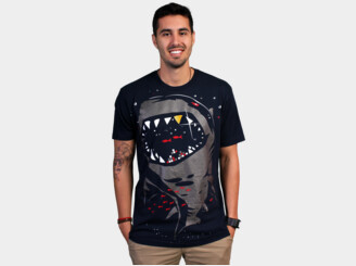 Limited Edition - Shark with Pixelated Teeth by gloopz