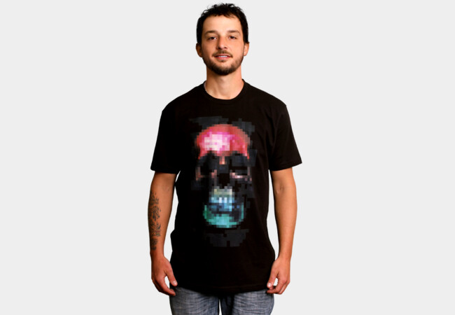 Limited Edition - Pixskullz T-Shirt - Design By Humans