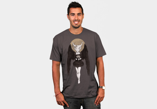 Dark Messenger T-Shirt - Design By Humans