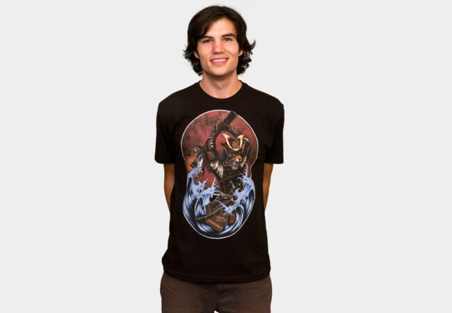 Six String Samurai T-Shirt - Design By Humans