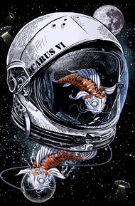 Space Koi T-Shirt