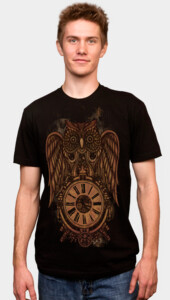 Steampunk Owl Men's