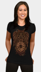 Steampunk Owl Women's