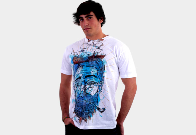 The Old Man in the Sea T-Shirt - Design By Humans