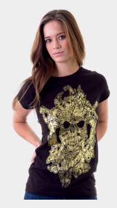 Two Candles Skull Women's