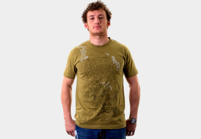 Green Schmeen T-Shirt - Design By Humans