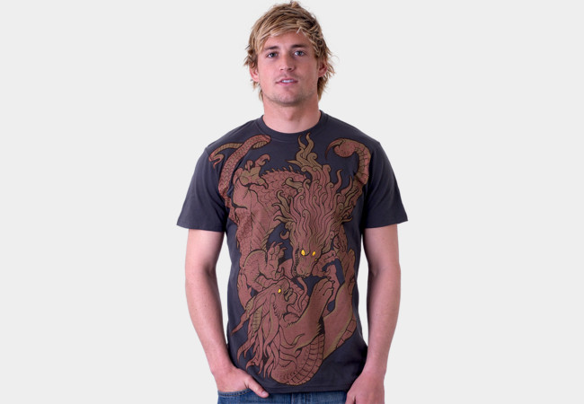 Monster Battle T-Shirt - Design By Humans