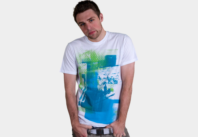 Bleu Beaches T-Shirt - Design By Humans