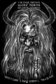 Vikings never wore horns!!!!!