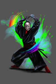 rainbow slasher