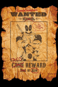 Deadpool Wanted Poster