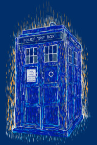 tardis by vincent