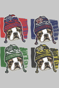 Boston Terrier Sports Beanies