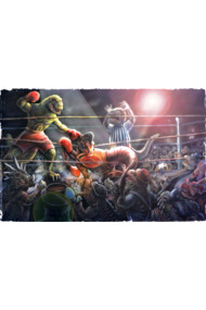 Battle of The Ages Dinosaur Fight Card