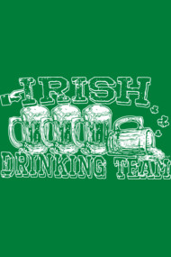 St. Patty's Irish Drinking Tee