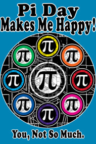 Pi Day Makes Me Happy