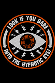 hypnotic eye orange