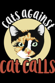Cats against catcall calico cat feminism