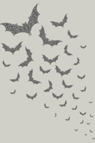 Swirly Bat Swarm