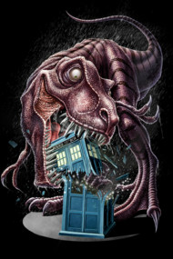 T-Rex Vs The Tardis