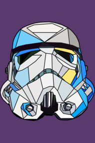 Stained Glass Stormtrooper