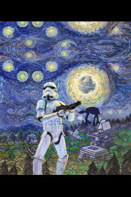 Stormtrooper Starry Night