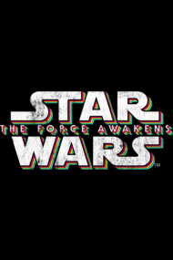 Force Awakens Distressed Logo