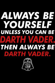 Always Be Darth Vader