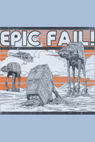 AT-AT Epic Fail
